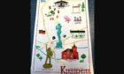 The Kirriemuir-inspired tea towel.