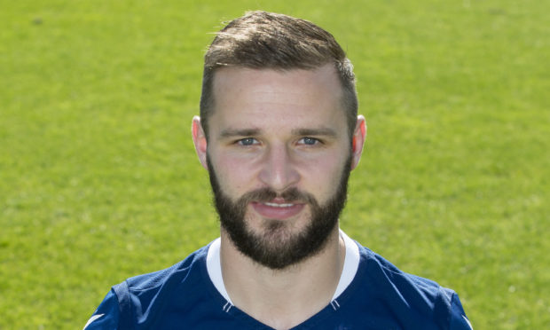 Jamie Ness of Dundee FC.