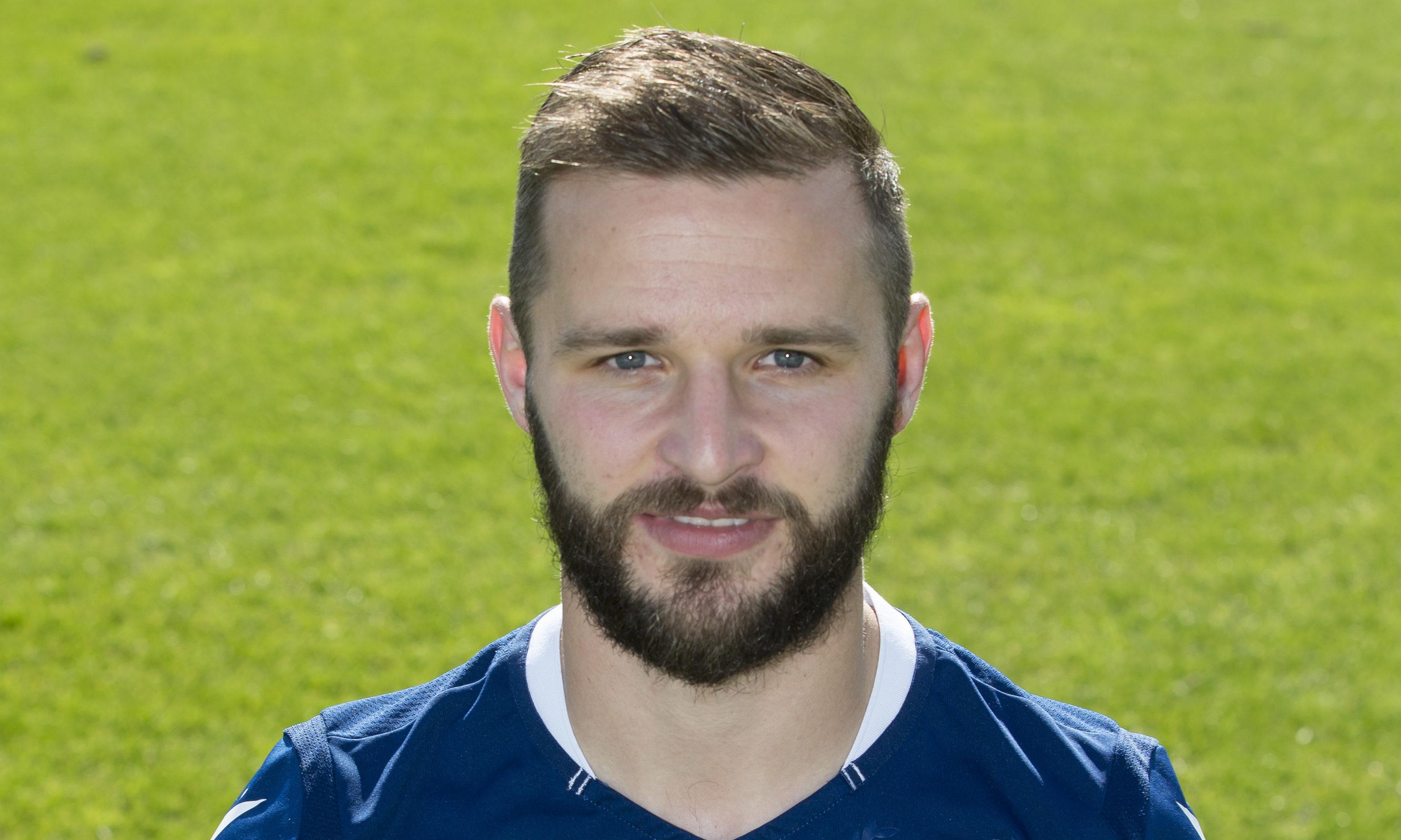 Jamie Ness of Dundee FC.