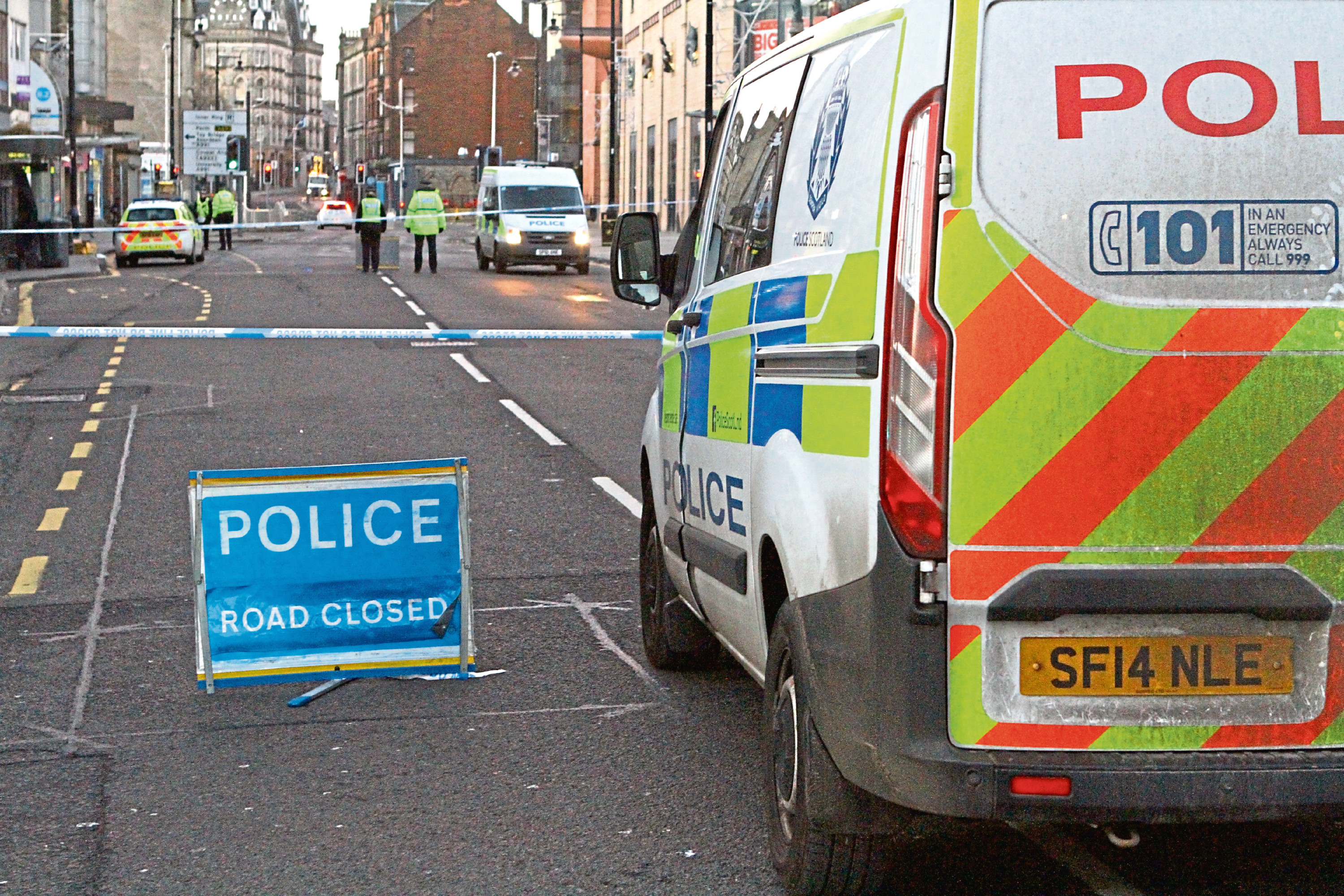 The scene of the incident on Nethergate.