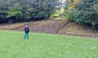 Ewan Gurr at Cathkin Park.