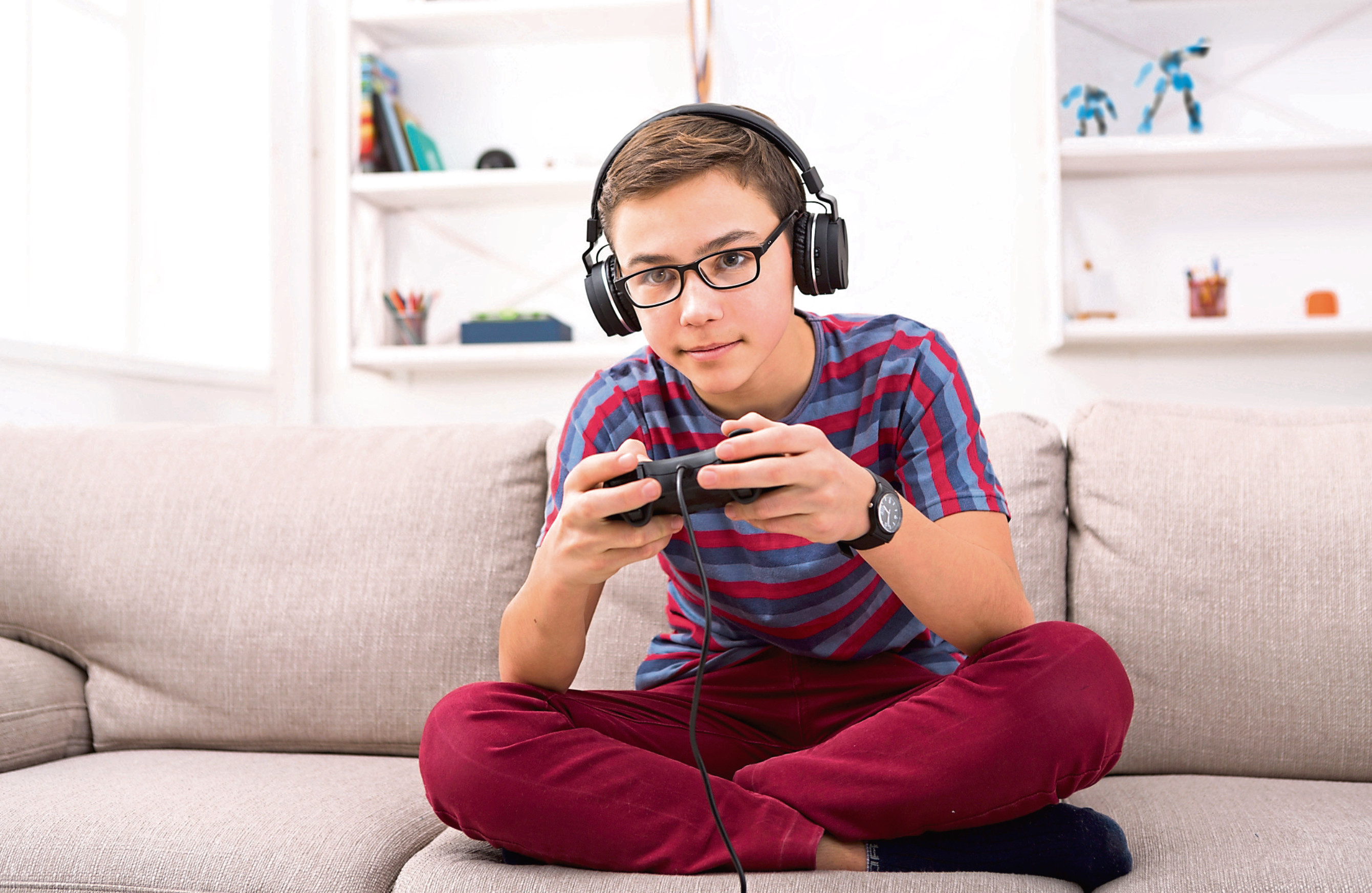 Games such as Fortnite, Minecraft and Roblox connect hundreds of strangers and open up conversations between them.