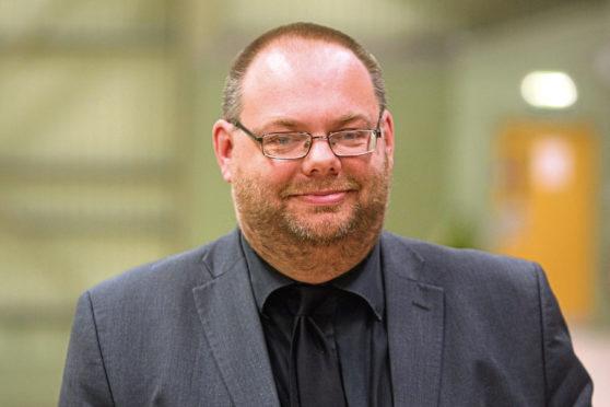 Dundee City Council's education spokesman, Stewart Hunter.