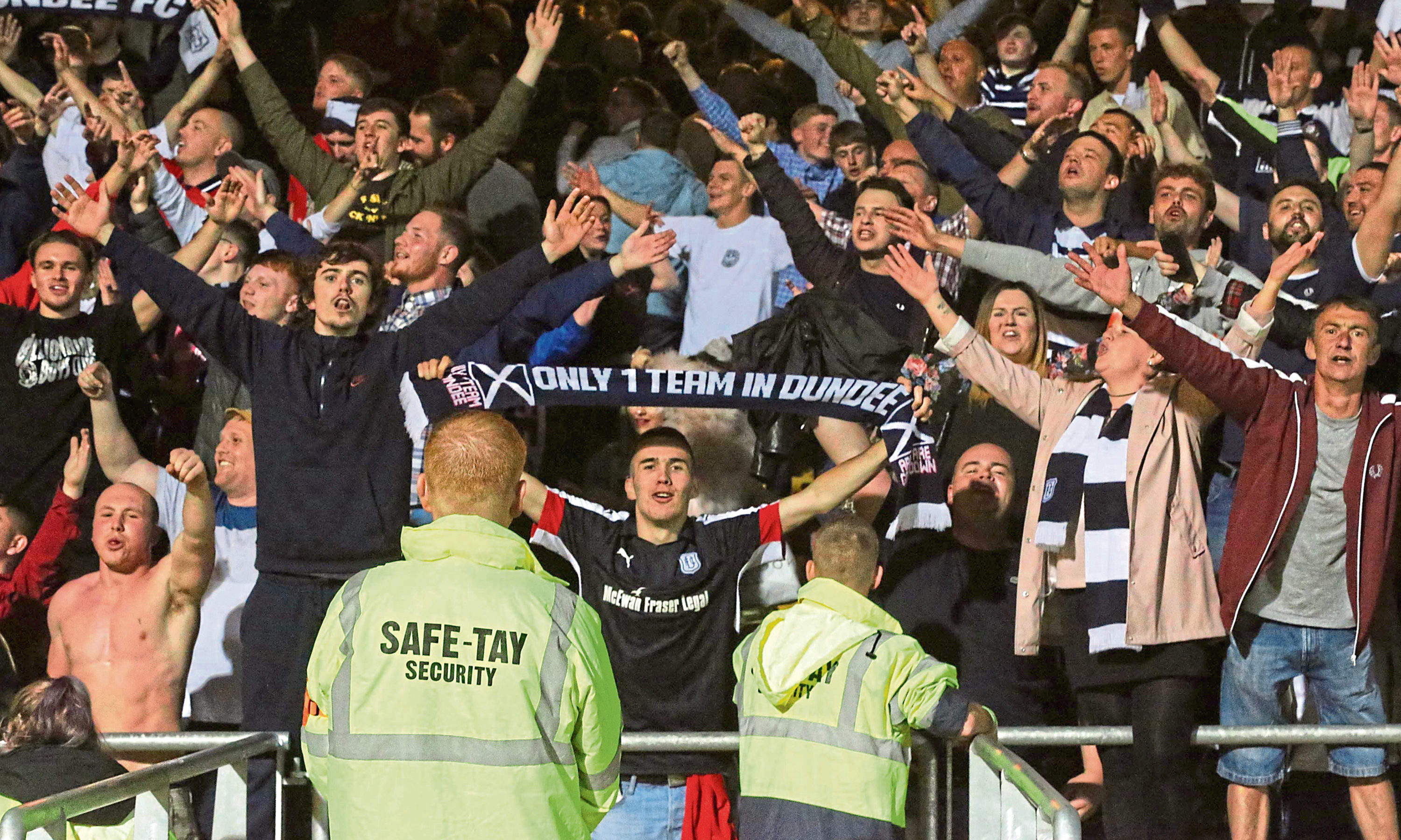 Dundee fans will be keen for revenge after losing 6-2 to their city rivals in August.