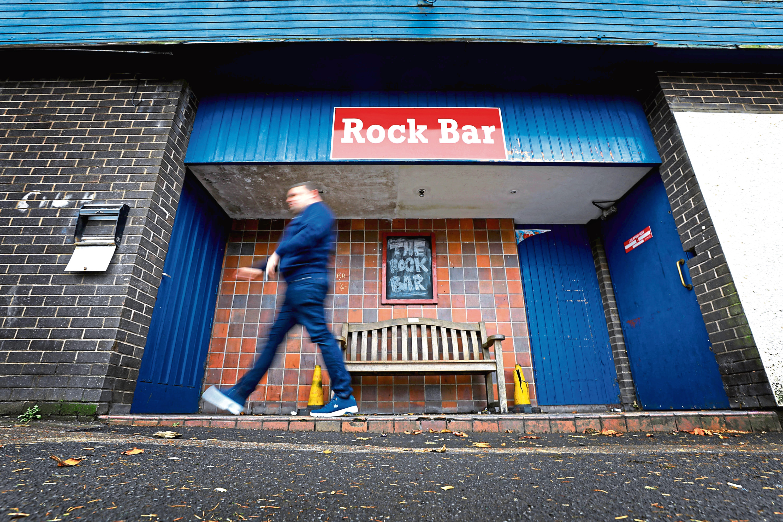 The Rock Bar.