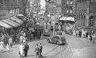 A bustling Murraygate in 1956.