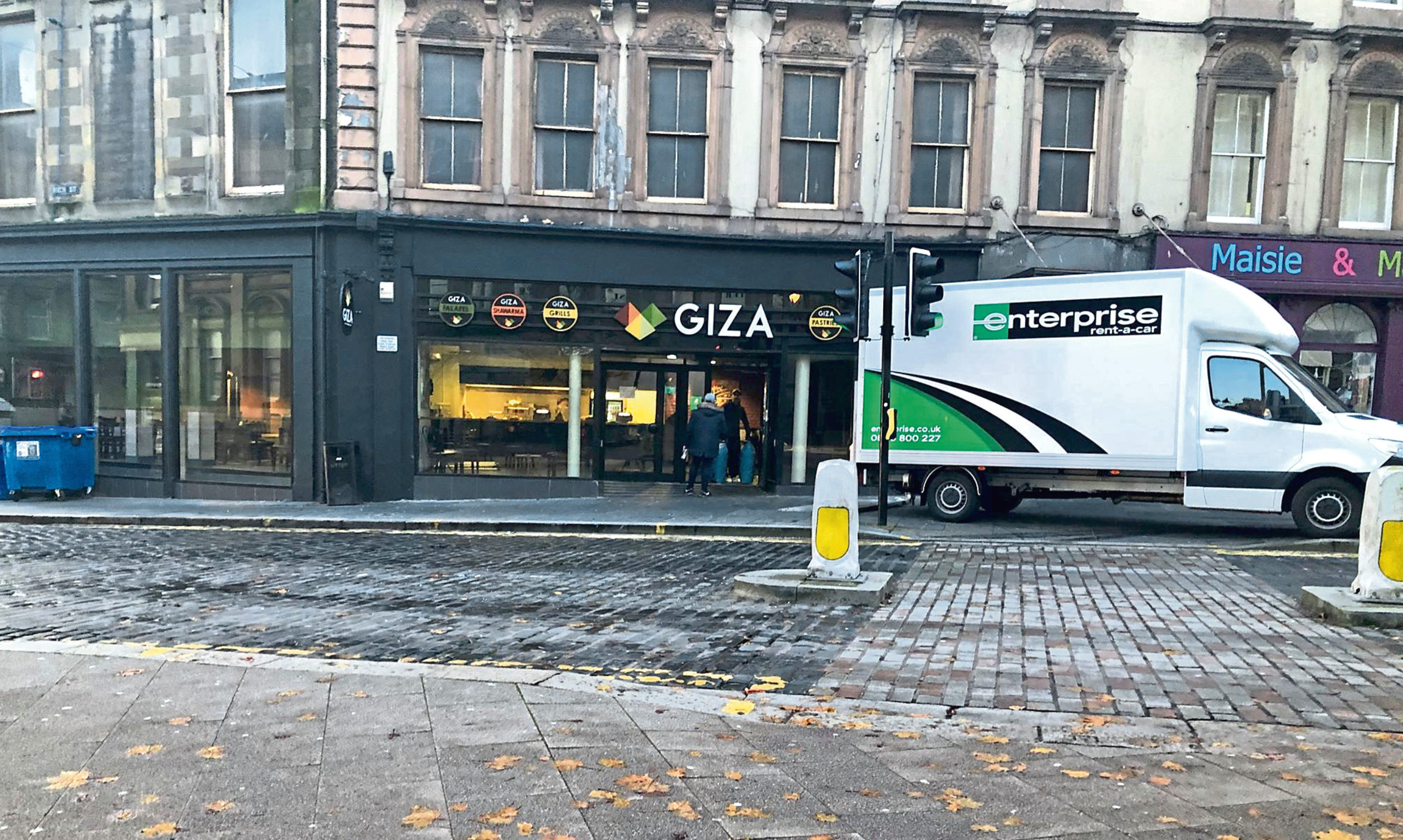 Giza Restaurant has now closed.