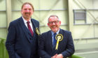 SNP candidates Stewart Hosie and Chris Law.