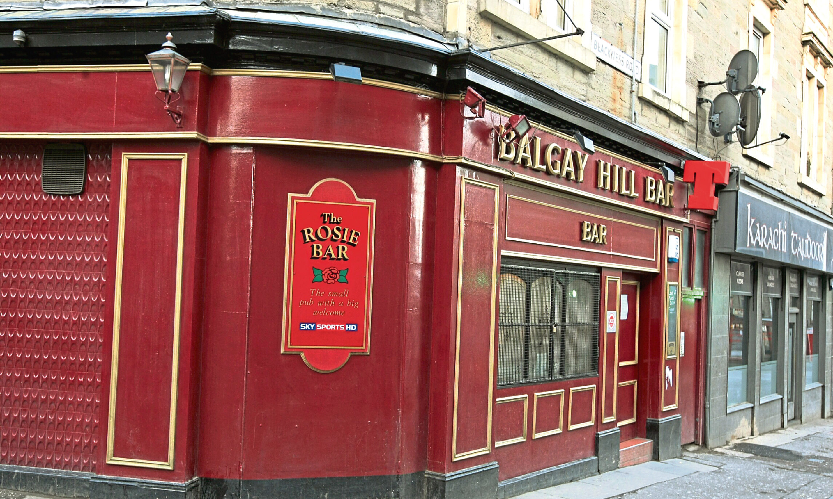 The Balgay Hill Bar.