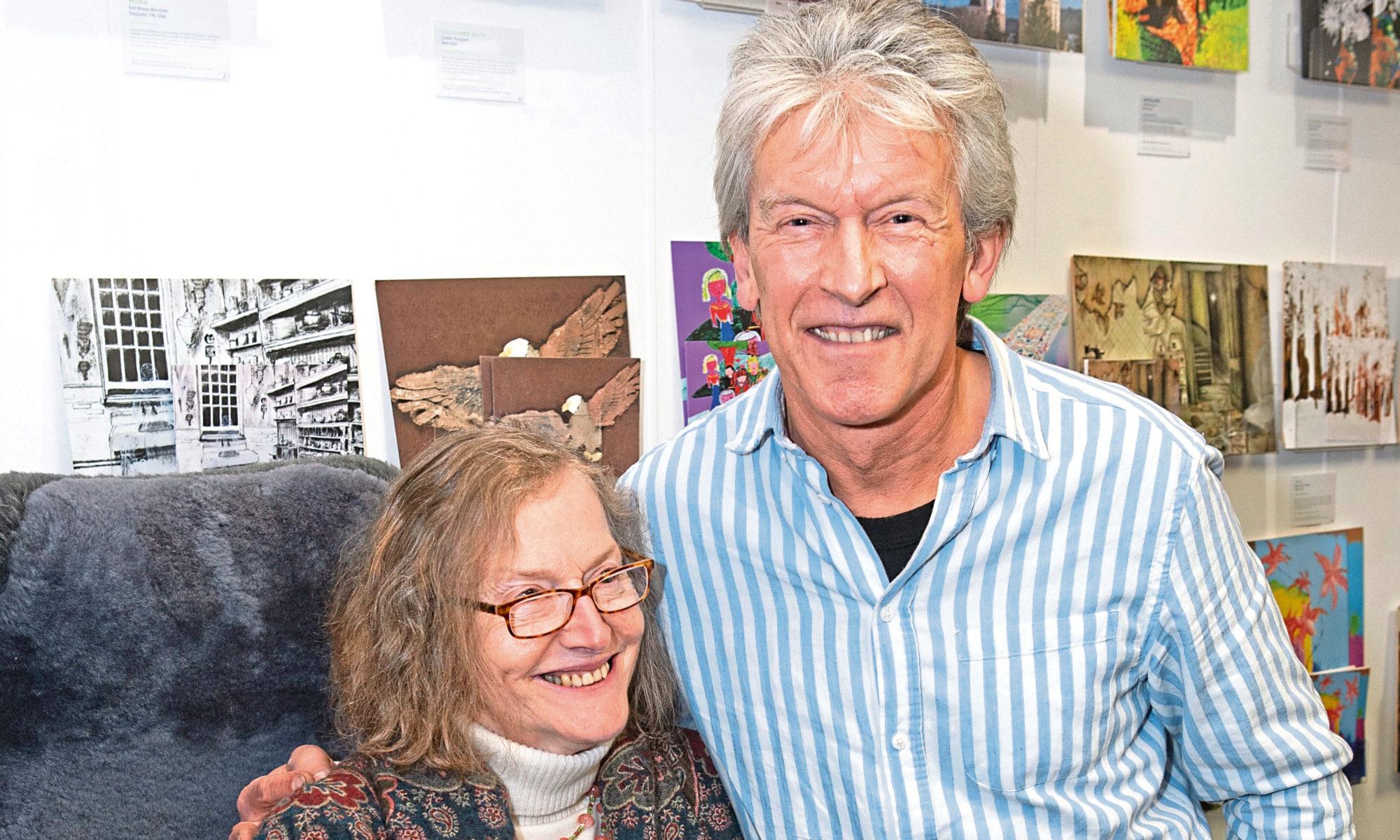 Stella Kinread and Ian Whyte.