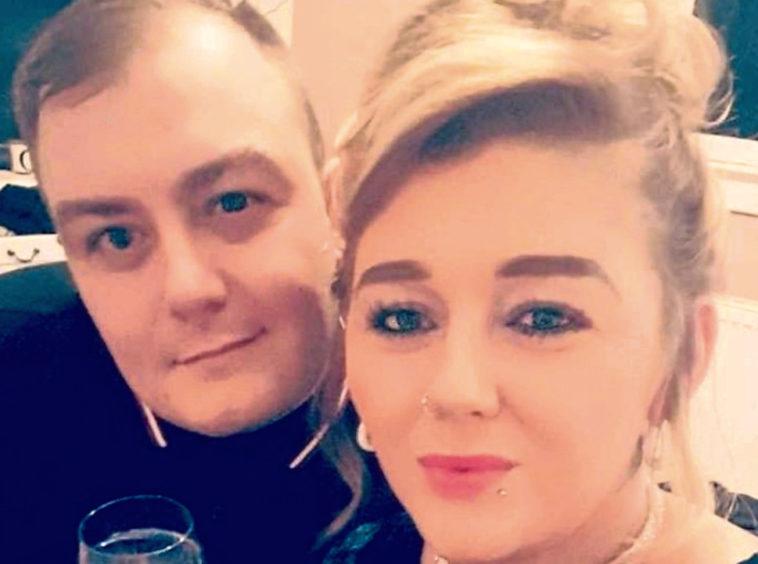 Lyndsay and her ex Darren Ogilvie.
