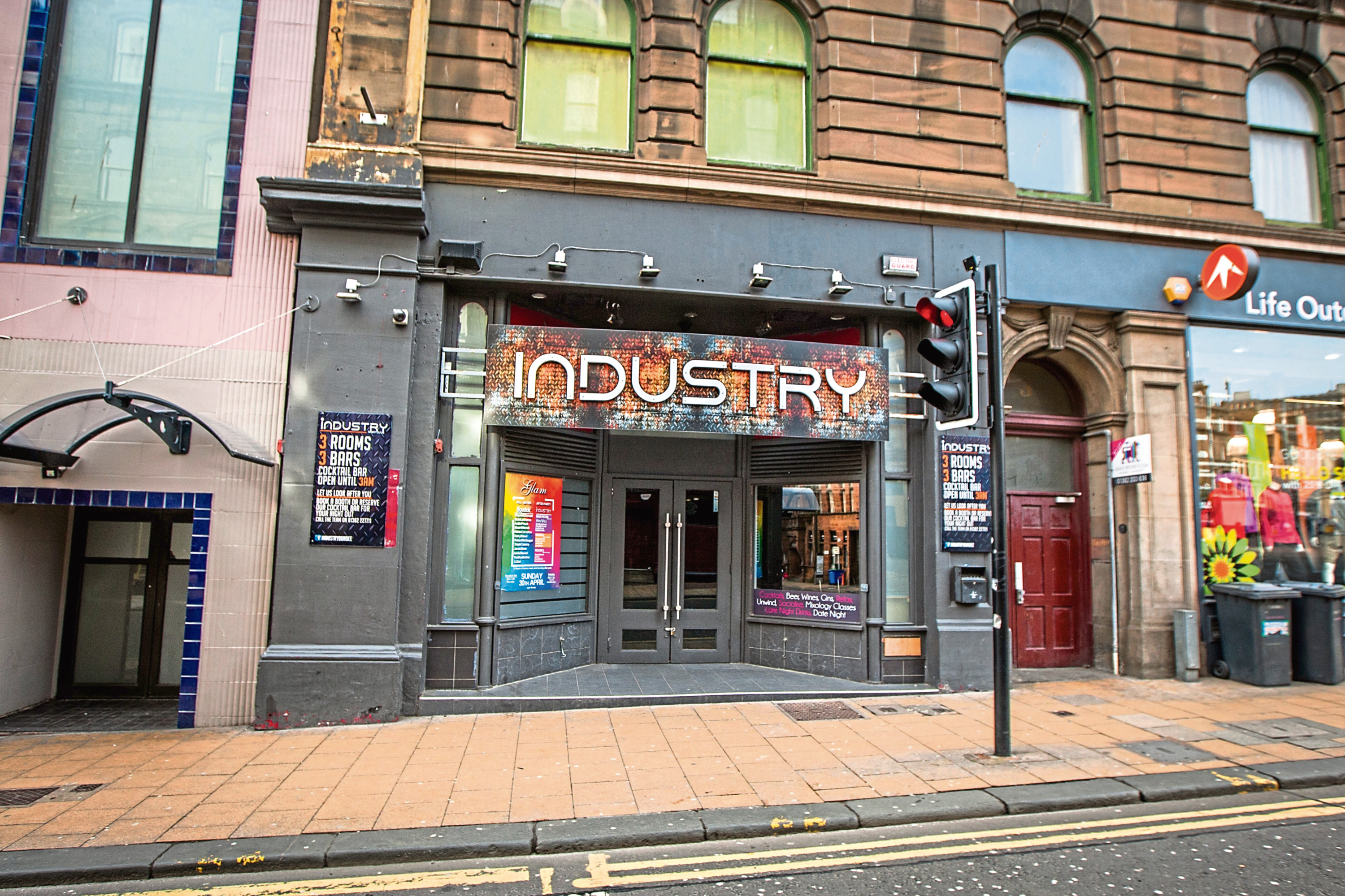 Industry nightclub in the Seagate is the target of a lapdancing bid.