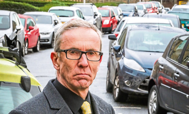 Councillor Fraser MacPherson welcomes council move on parking.