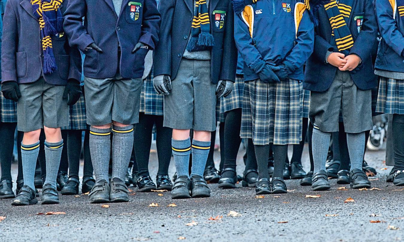 High School of Dundee pupils.