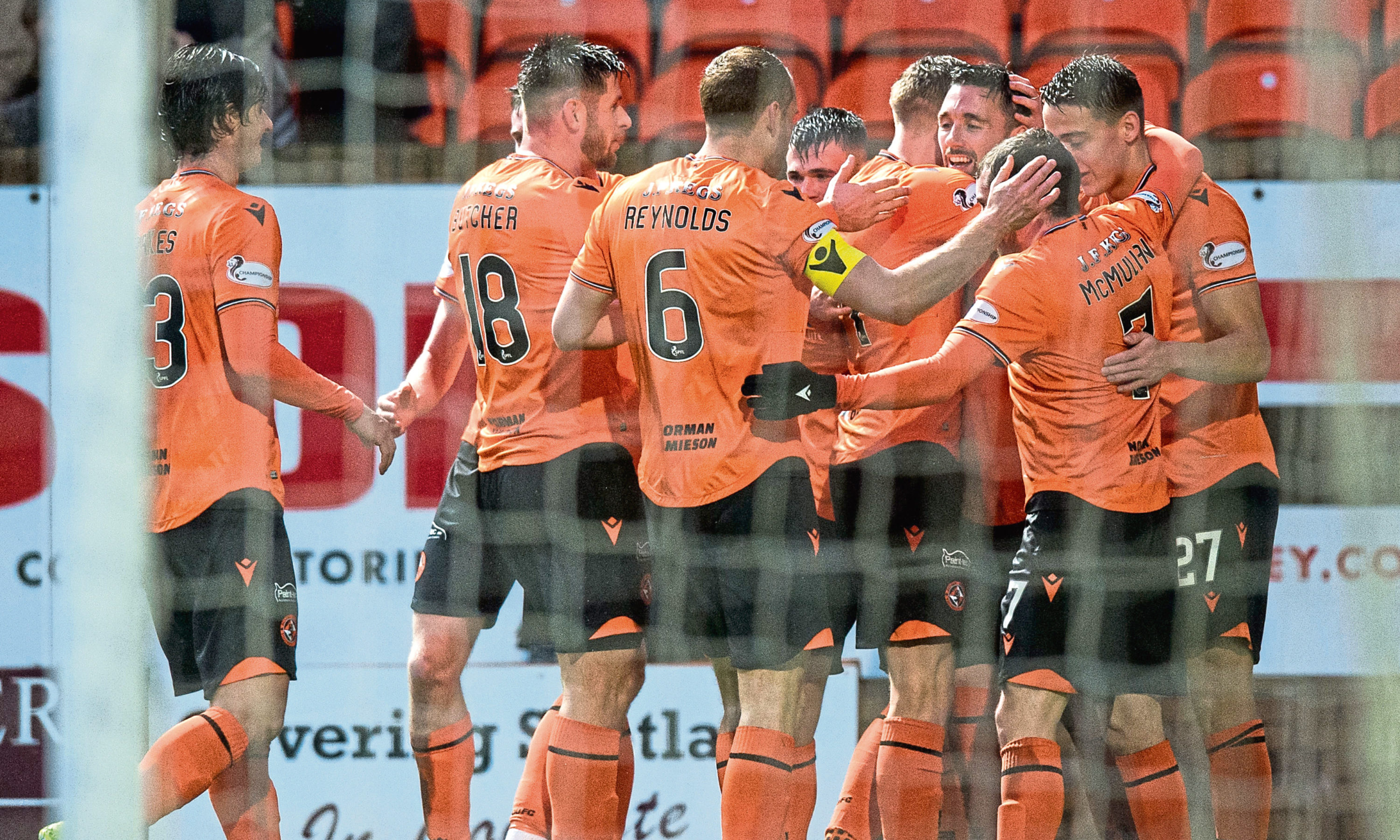 Dundee United are now favourites to gain promotion.