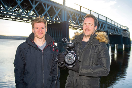 Stuart Hamilton and Liam Johnston.