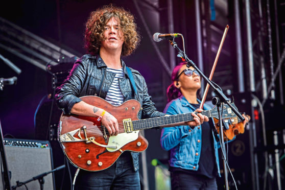 Dundee's first Hogmanay street party since 1999 will feature The View frontman Kyle Falconer.