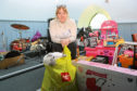 Support worker Lucie Conway who organises the toy recycle.