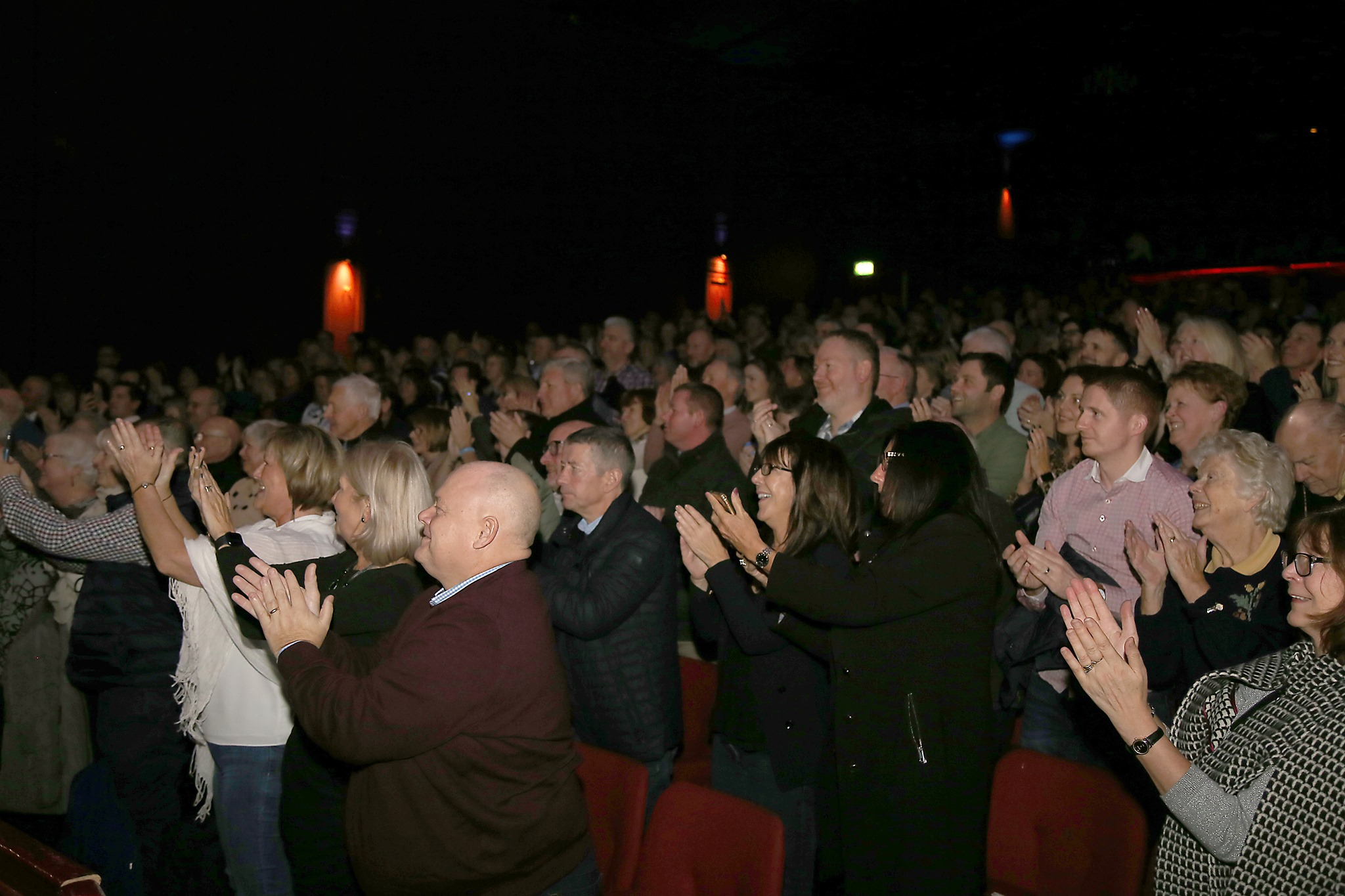 The show ended with a standing ovation for Parky at the Whitehall Theatre.