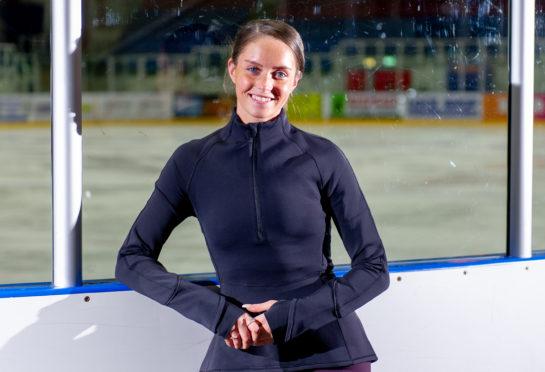 Dundee figure skater Natasha Mckay.