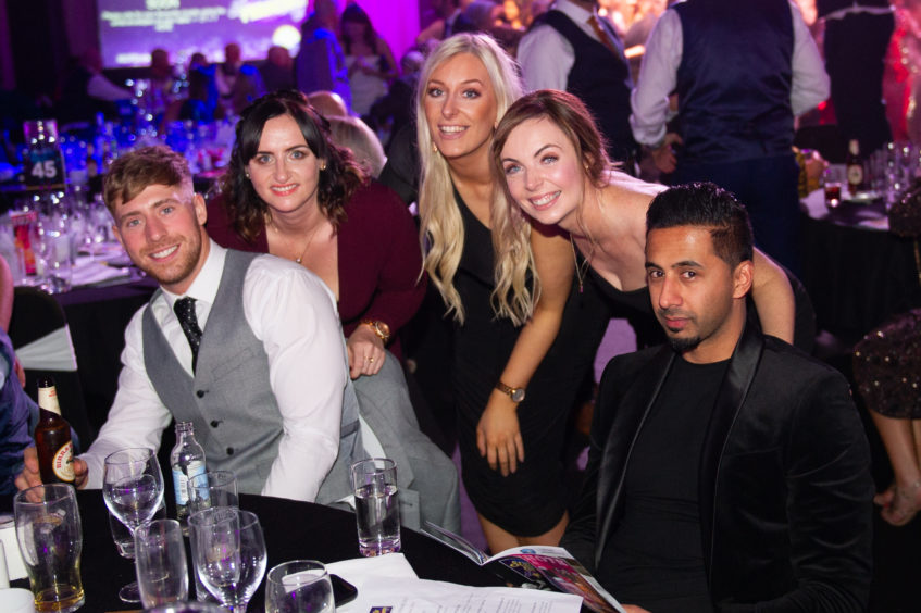 Some of the company who enjoyed their night.