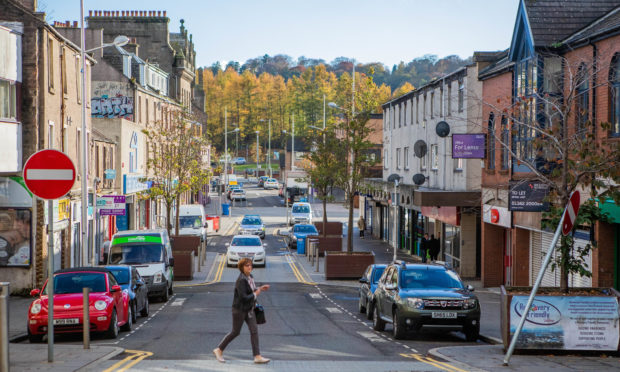 Lochee High Street (Stock image).