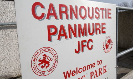 Laing Park, home of Carnoustie Panmure.