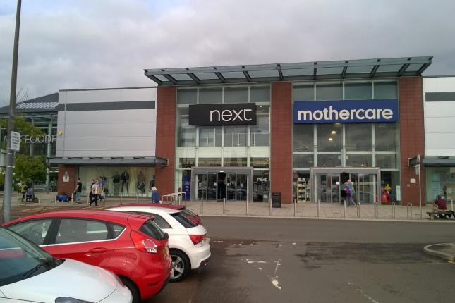 The Mothercare store in Dundee's Gallagher Retail Park.