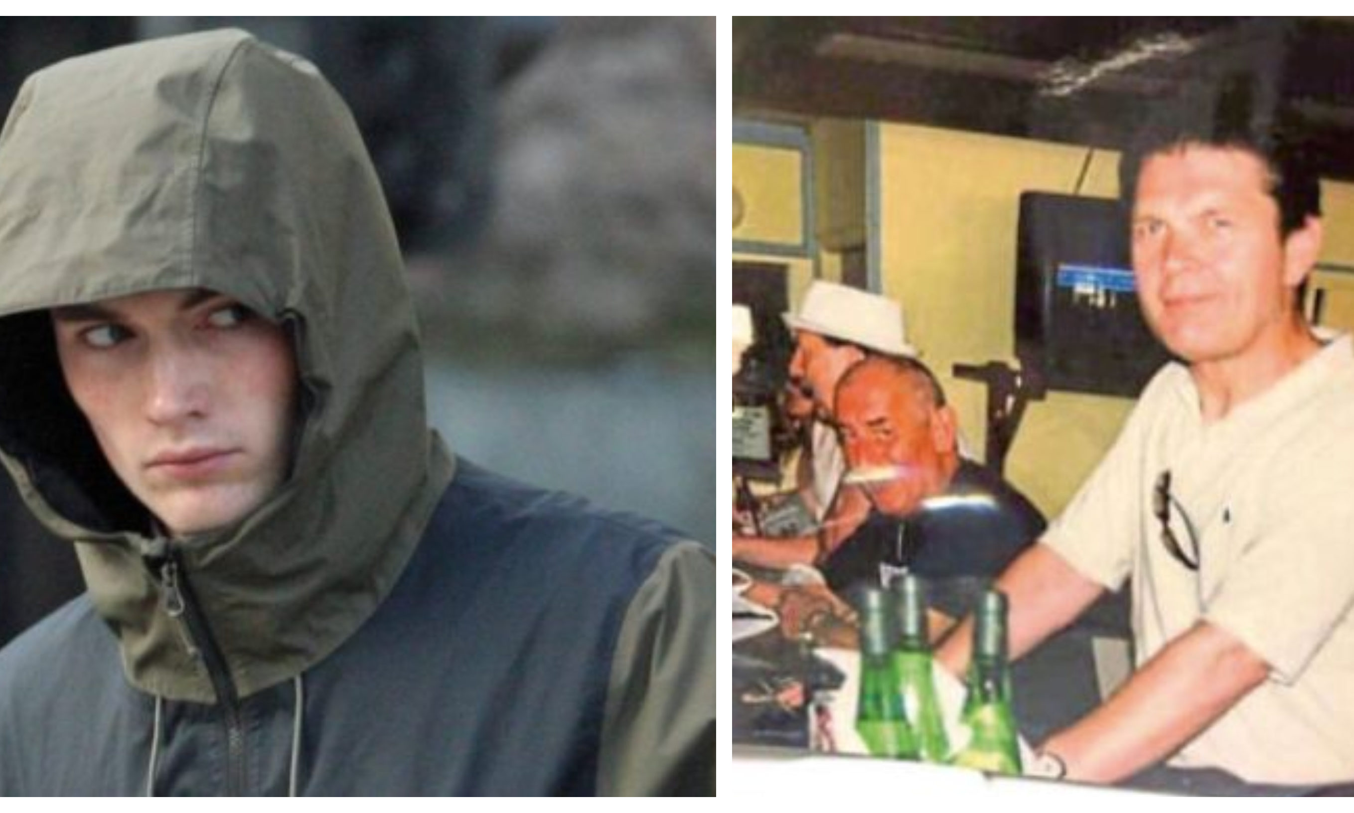 Wes Reid, left, is accused of killing Brian Fox, right. He has lodged a special defence of self-defence.