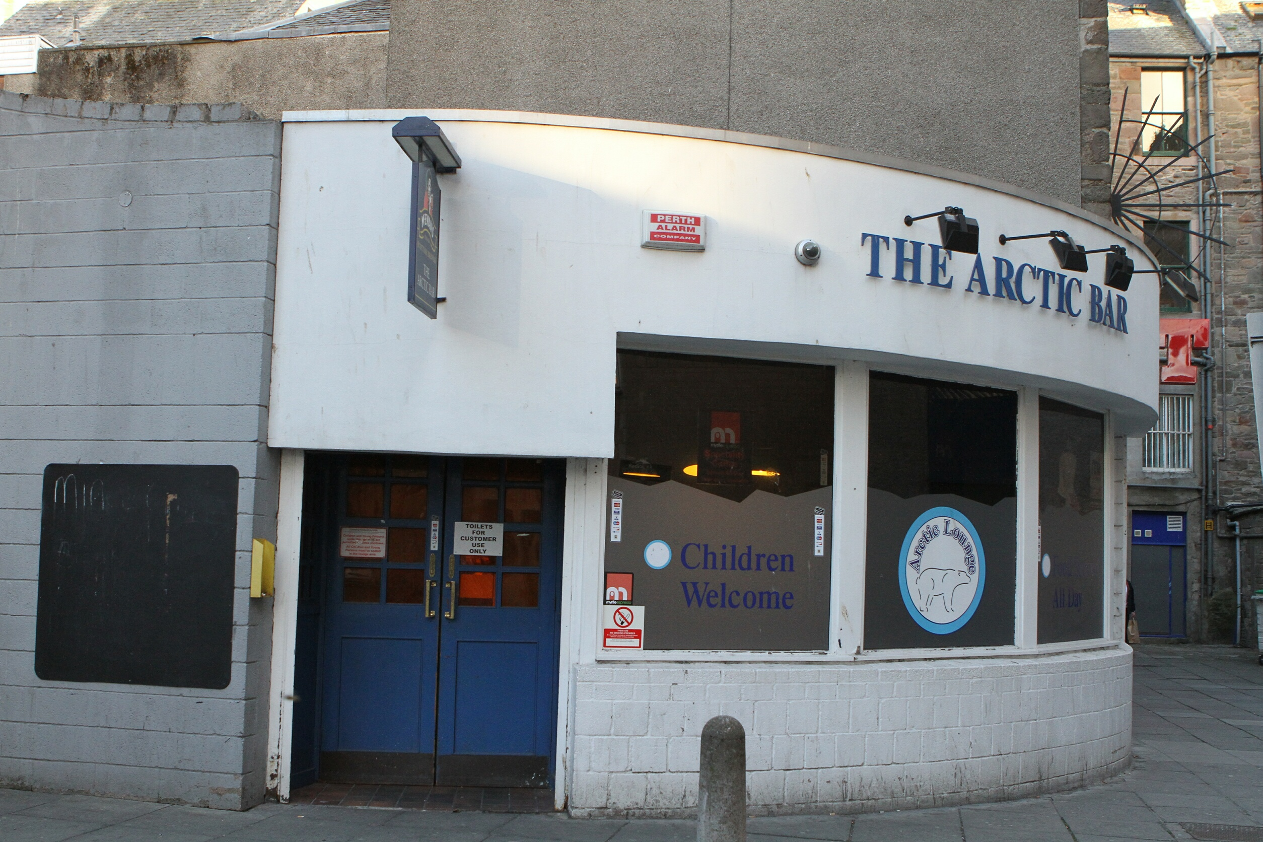 The Arctic Bar in Dundee.
