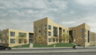 The proposed housing for Coupar Angus Road.