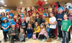 The children got to meet the cast of Aladdin at the Gardyne Theatre.