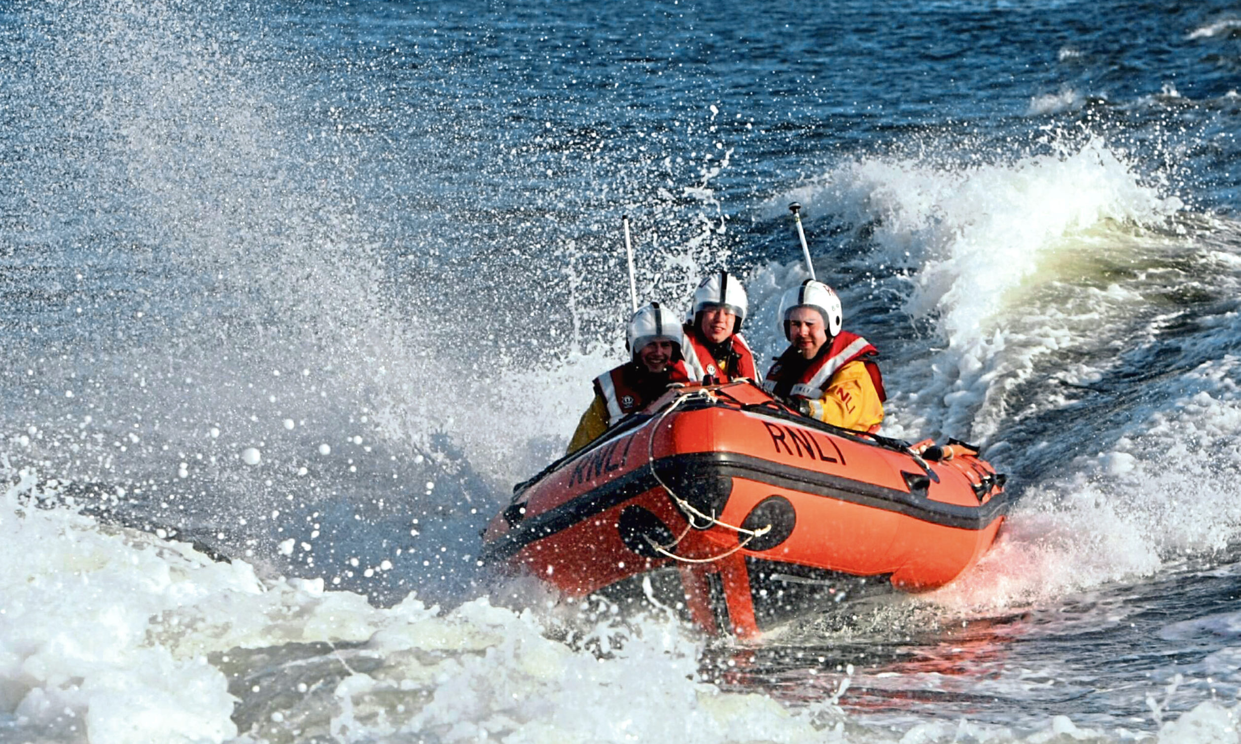 The Broughty Ferry Lifeboat on the Tay.