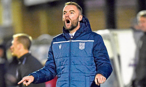 Dundee manager James McPake is searching for an end to his side's poor run of form as they head to Gayfield to face Arbroath this afternoon.