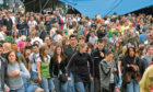 Revellers at Radio 1s Big Weekend back in 2006.