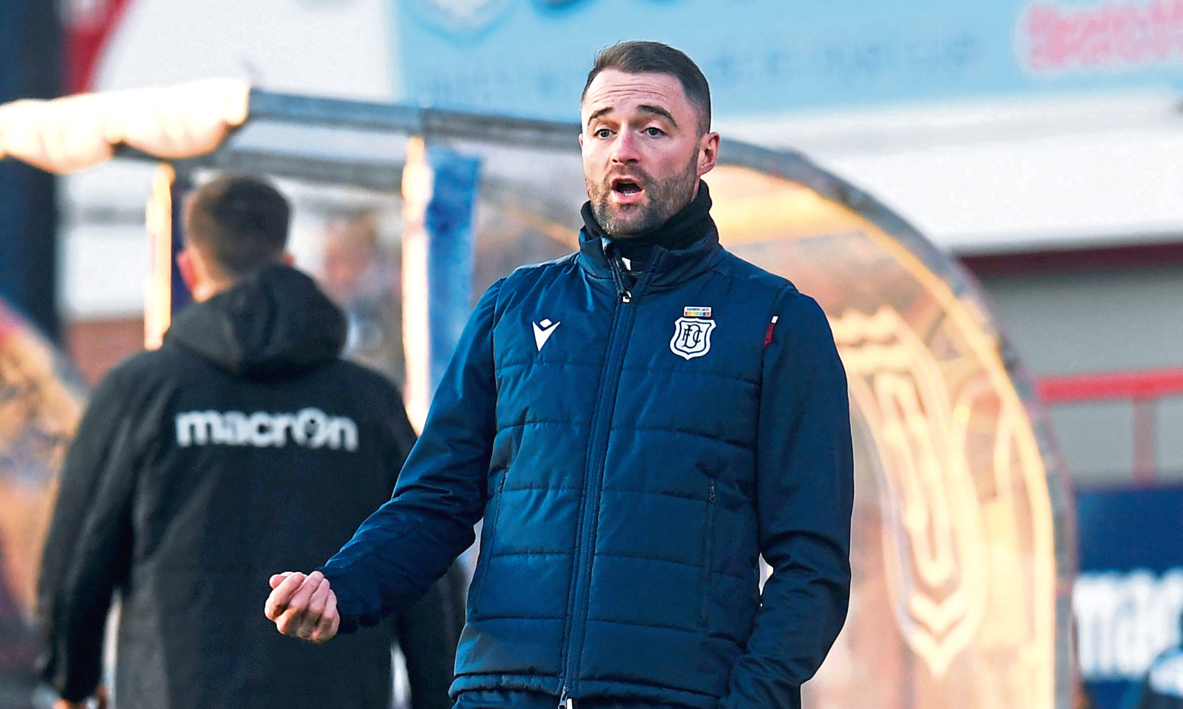 James McPake will be keen to get back to winning ways as Dundee welcome Dunfermline on Saturday.
