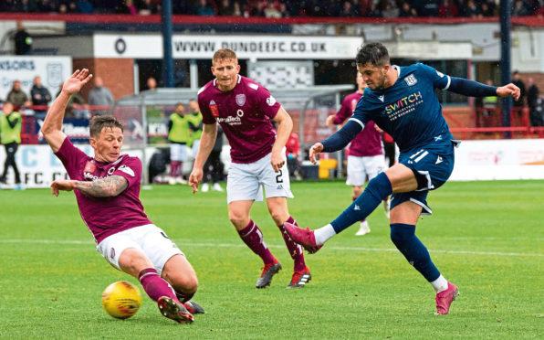 Dundee's Declan McDaid.