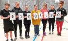 Students from Dundee and Angus College have managed to raise over £1000 for a local cancer charity.