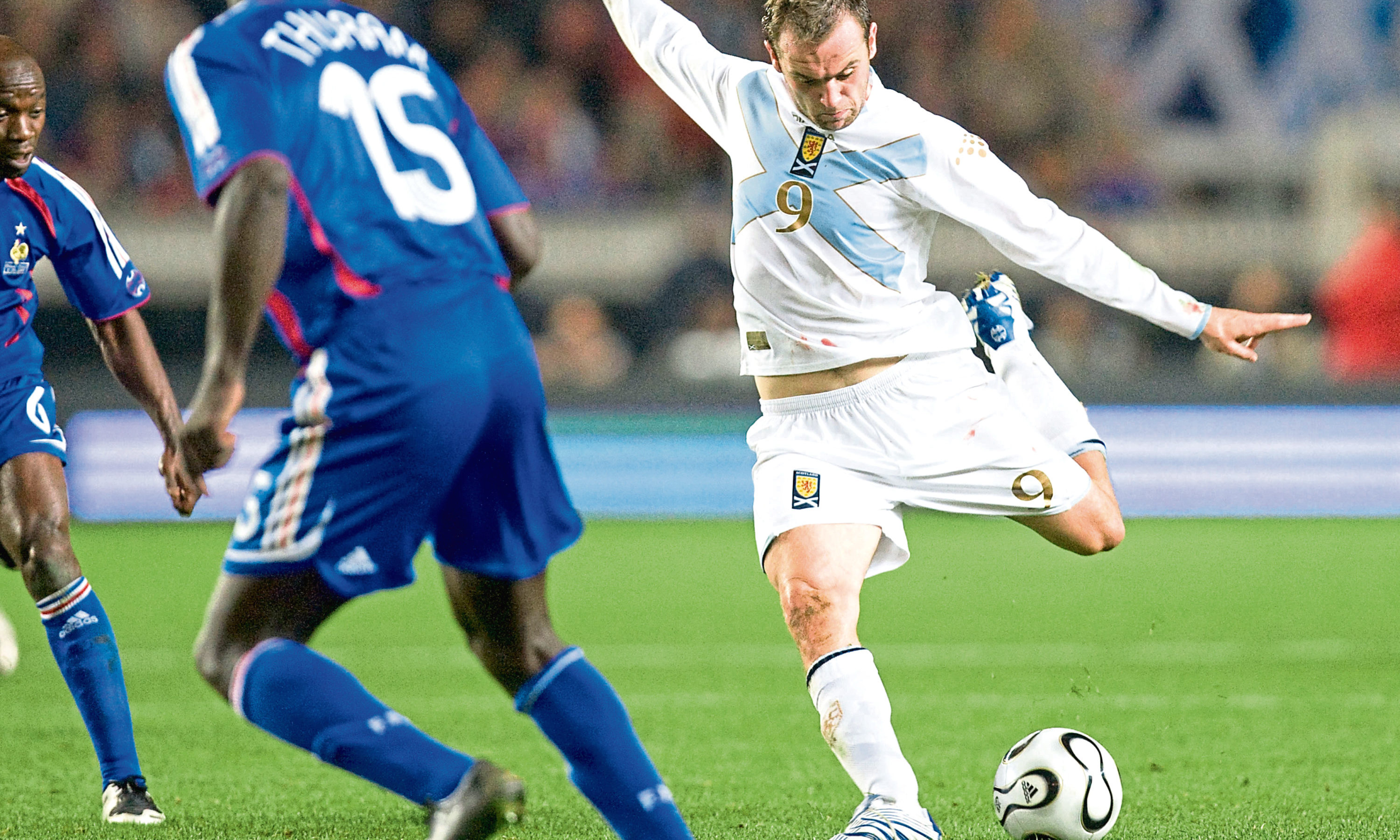 McFadden scored one of the greatest goals in Scotland's history during a memorable win against France in 2007.
