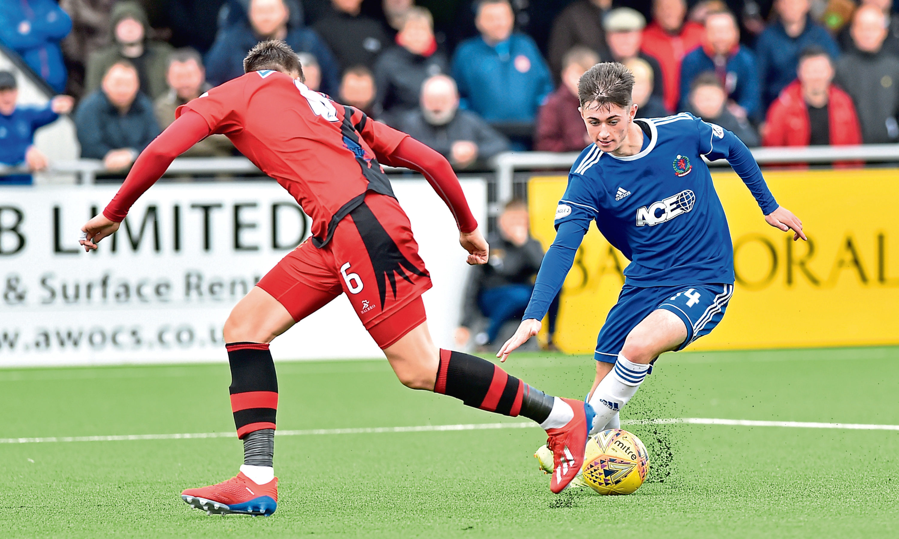 United's Declan Glass could have an impact in the second part of the season.