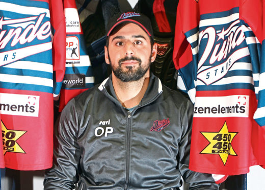 Dundee Stars head coach and general manager, Omar Pacha.