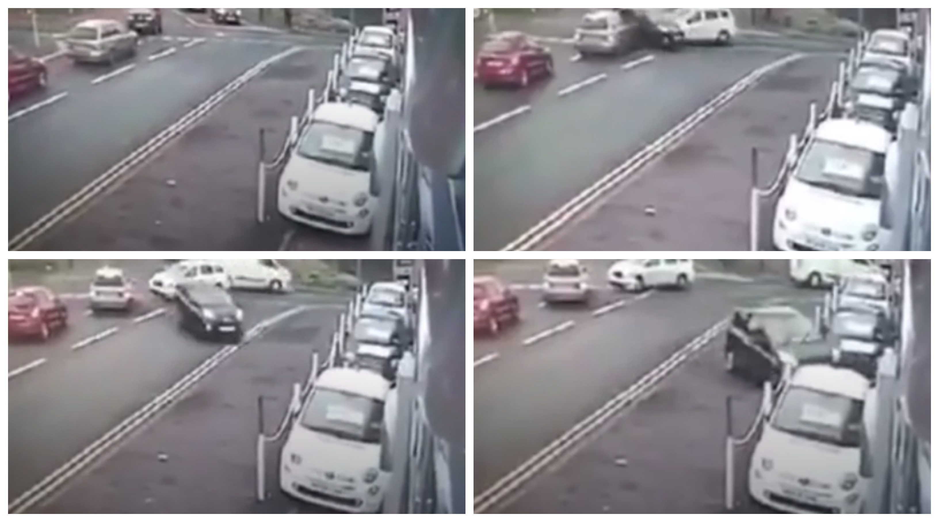 CCTV footage supplied by Tayside Mobile Speed Locations.