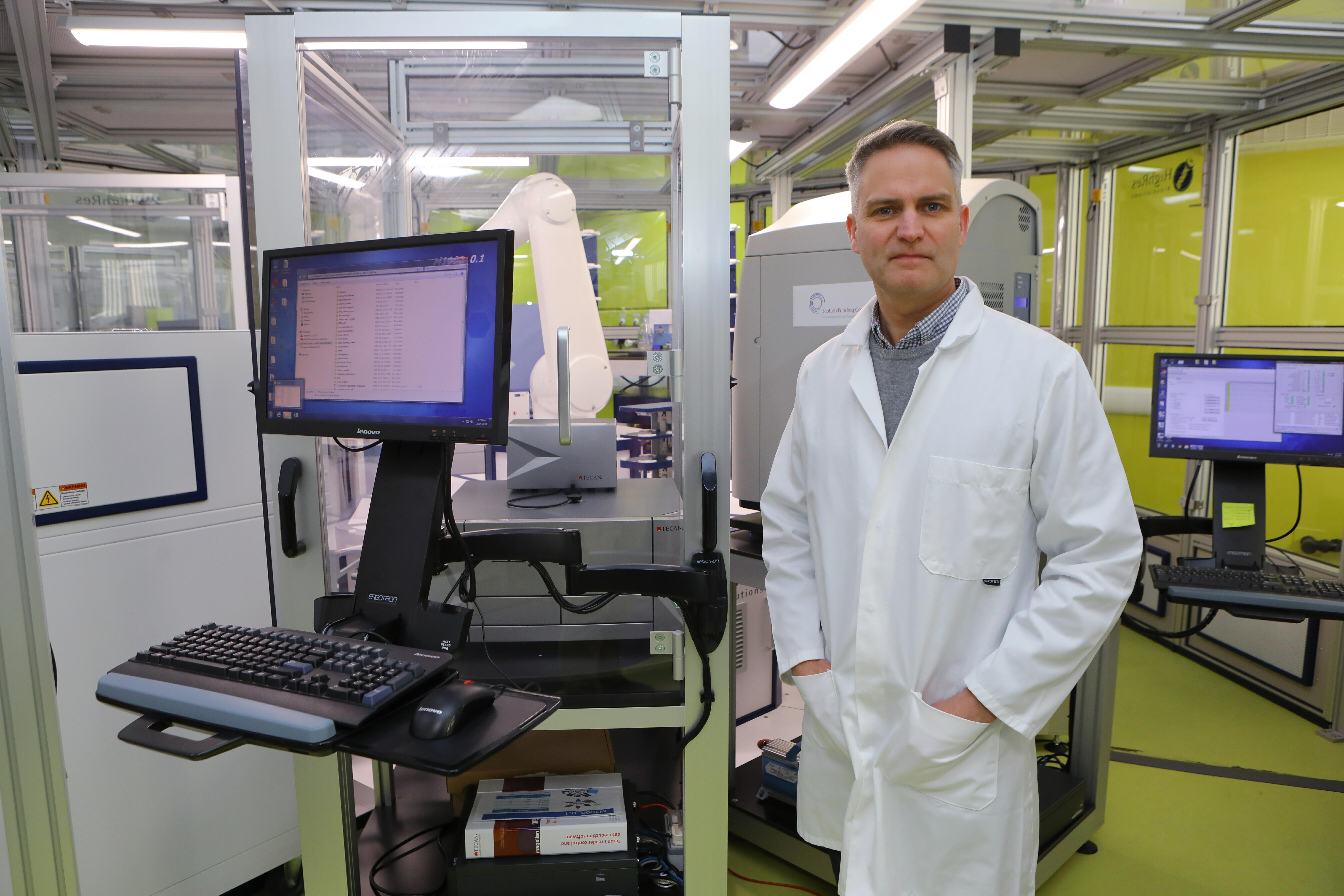 Dr Paul Andrews.