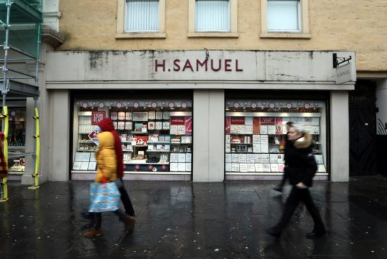 H Samuel's has closed after over 100 years of business in Dundee.