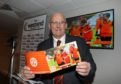 Evening telegraph news CR0017297 G Jennings pics, launch of  Dundee United Community Trust  Strategy for 2020 - 2025 ,chairperson David Dorward at the launch in the West End suite at Tannadice, tuesday 10th december.
