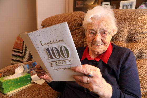 Nancy will turn 100 on Saturday December 7.