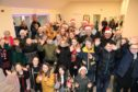 St Marys primary school p6/7 children entertained residents at the Dryburgh gardens complex with Christmas carols,