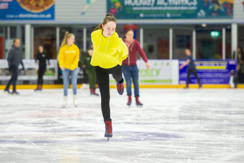 Youngsters in the Breakthrough mentoring programme got treated to a night on the ice.