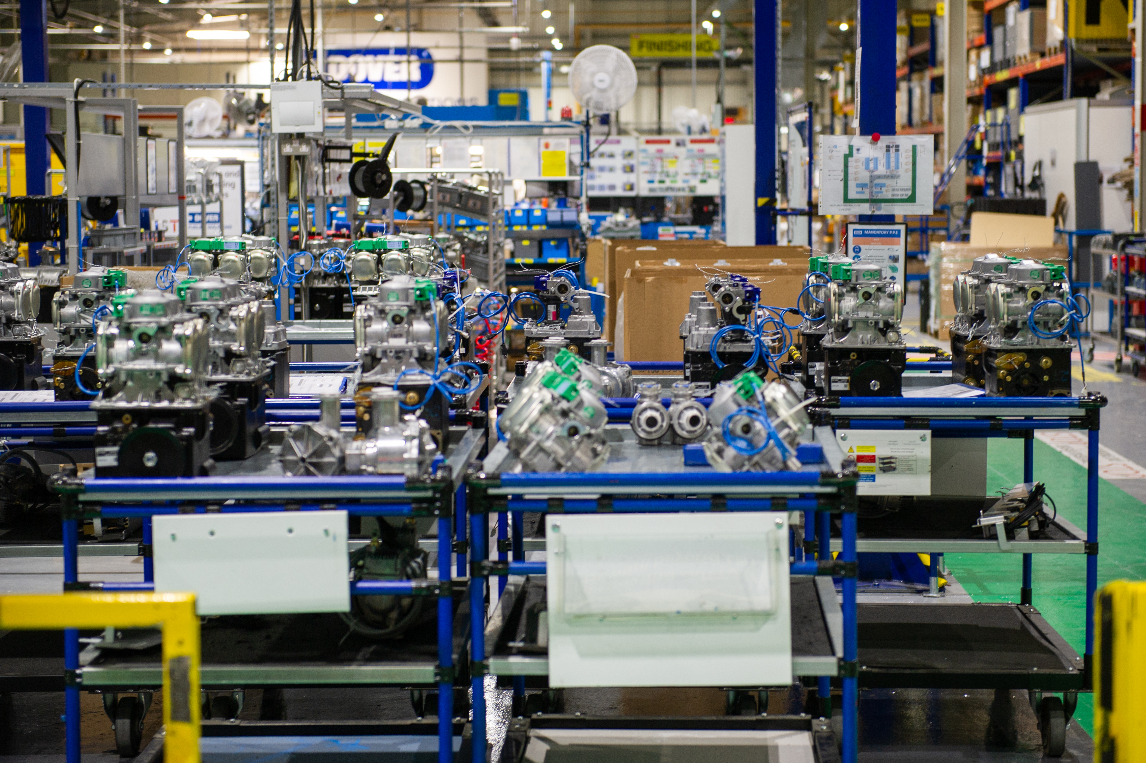 Inside Dover Fuelling Solutions factory