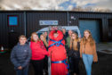 Craigie pupils learn first aid from the Tayside Mountain Rescue Team.